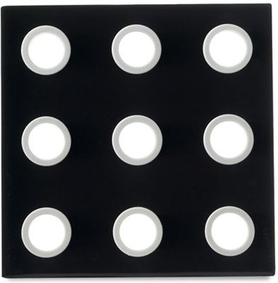 Mepal onderzetter Domino zwart Pannenonderzetters