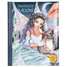Fantasy Model tekenboek met licht en geluid