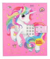 Ylvi & the Minimoomis dagboek met geheim code roze