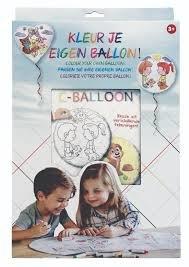 C-Balloon - Kleur je eigen ballon - Keuze uit 4 verschillende