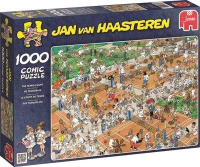 Jan van Haasteren De tennisbaan - 1000 stukjes