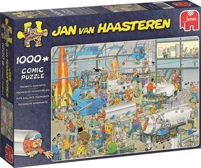 Jan van Haasteren - Technische hoogstandjes - Puzzel 1000 stukjes