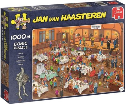 Jan van Haasteren Darten - 1000 Stukjes