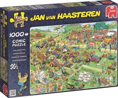 Jan van Haasteren Grasmaaierrace -  1000 Stukjes