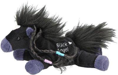 Miss Melody klein knuffelpaard Black Angel