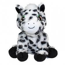Lumo Knuffel Pony Snow