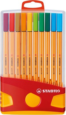 STABILO - point 88 Fineliner Etui 20 Stuks