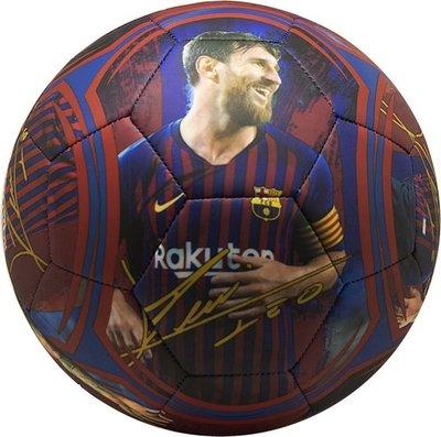 FC Barcelona bal mat Messi maat 5