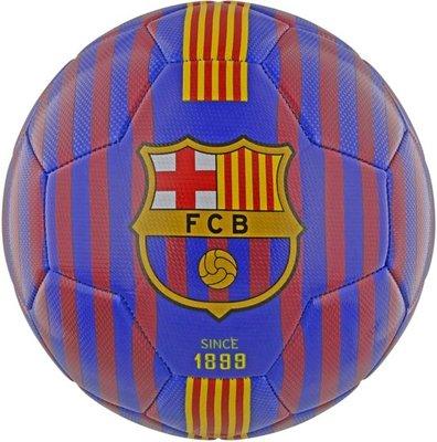 Fc Barcelona Voetbal Leer Blauw Maat 5