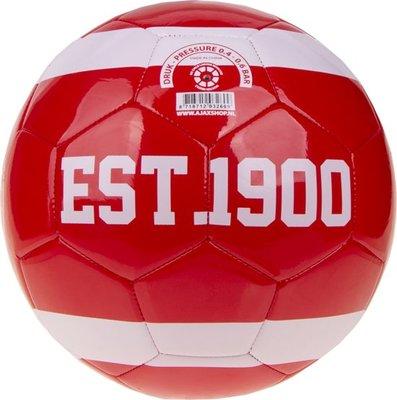 Bal Ajax middel 13cm rood est 1900