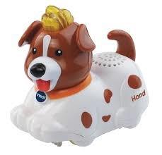 VTech Zoef Zoef Dieren Hidde Hond - Speelfiguur