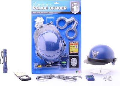 Politie speelset Deluxe op kaart