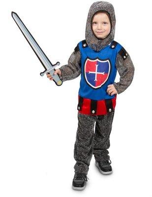 Stoer Ridder kostuum Jongen 3delig-Verkleedkleding 116-134