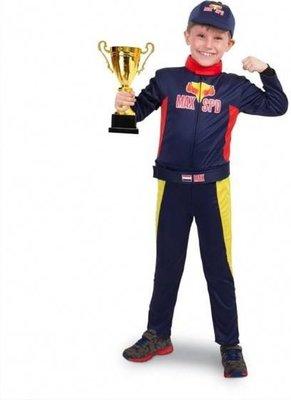 Formule 1 Race Kostuum Maat 116/134