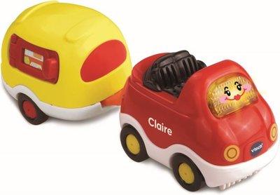 VTech Toet Toet Auto's Claire Cabrio & Caravan
