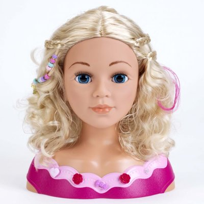 Kapkop met Make-up Princess Coralie 33 cm