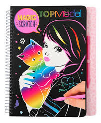 TOPModel Magic scratchbook