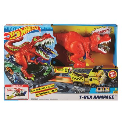 Hot Wheels City T-Rex Rampage Speelset