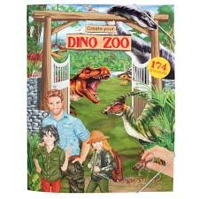 Create your DINO ZOO Stickerboek