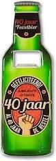 Magnetische Bieropener 40 jaar