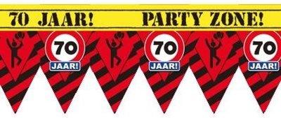 Party Tape - 70 Jaar
