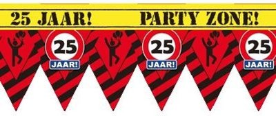 Party Tape - 25 jaar