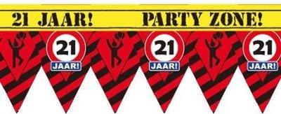 Party Tape - 21 Jaar