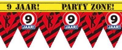Party Tape - 9 Jaar