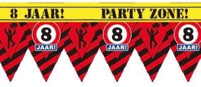 Party Tape - 8 Jaar