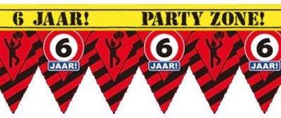 Party Tape - 6 Jaar