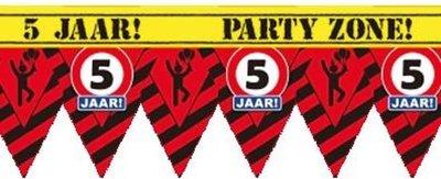 Party Tape - 5 Jaar