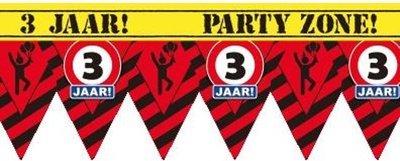 Party Tape - 3 jaar