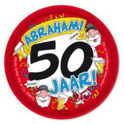 Dienblad - Abraham - 50 jaar