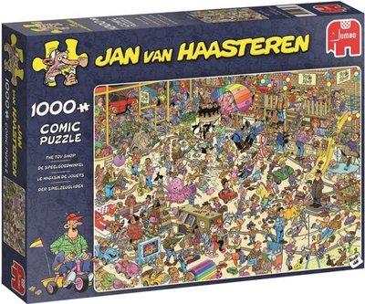 Jan van Haasteren De Speelgoedwinkel The Toy Shop 1000 Stukjes