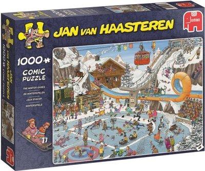 Jan van Haasteren De Winterspelen Puzzel 1000 Stukjes