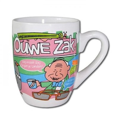 Cartoonmok -  Ouwe zak