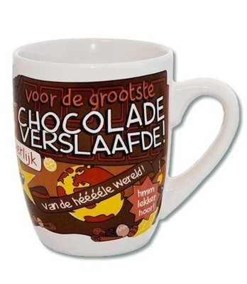 Cartoonmok - Chocoladeverslaafde
