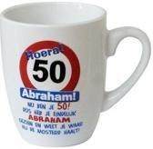 Cartoonmok - 50 jaar- Abraham