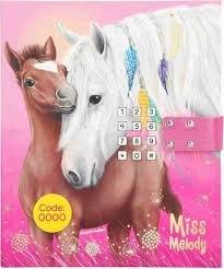 Miss Melody - Dagboek met Code en Geluid ROZE