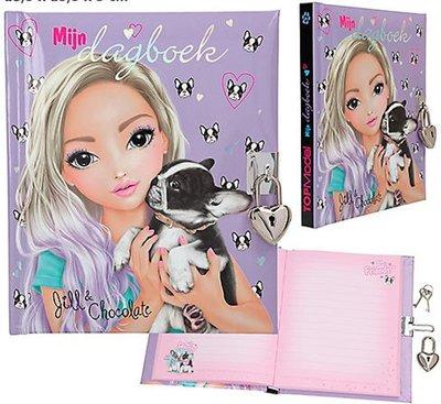 Topmodel dagboek Jill en Chocolate