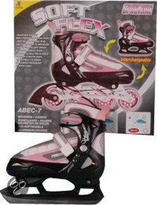 Sportline Schaats en Inline Skate 2-in-1 - maat 38-41