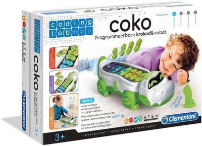 Clementoni - Coko de krokodil Robot - educatief spel