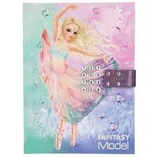 TOPModel Fantasy Model Dagboek met Geheime Code Ballet