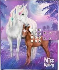 Miss Melody Dagboek met Geheime Code Paars