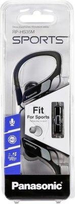 Panasonic RP-HS35ME-K zwarte sport oordopjes