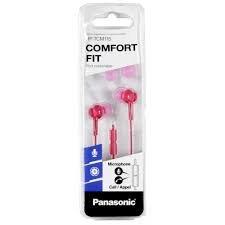 Panasonic RP-TCM115E-P roze oordopjes