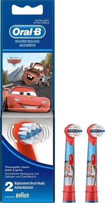 Oral-B Cars Opzetborstel set van 2