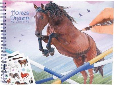 Horses Dreams kleurboek