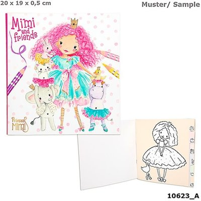 Princess Mimi and Friends Kleurboek