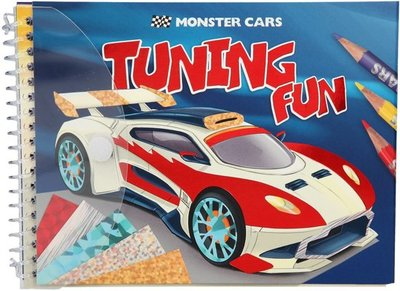 Monster Cars Tuning Fun Kleurboek